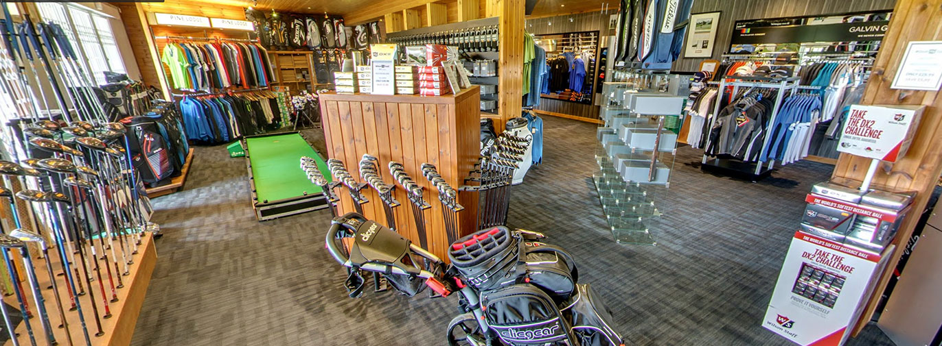 Pine Lodge GOlf Shop 360